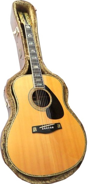 YAMAHAの最高級ギター、L-53を買取致しました。